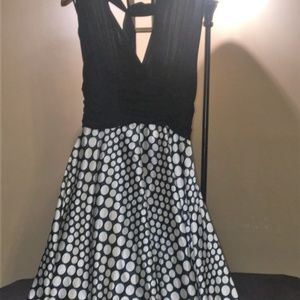 halter dress connected apparel size 10